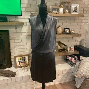 Diane Von Furstenberg Olive Green Silk dress, NWOT